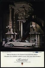 1963 FORD THUNDERBIRD Limited Edition Car - MONTE CARLO OPERA HOUSE VINTAGE AD