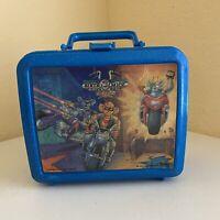 Vintage 1995 Biker Mice From Mars Lunch Box - NO Thermos Blue Aladdin 3720 USA
