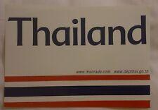 "Aufkleber Flagge ""Thailand"" by www.thaitrade.com"