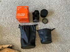 Sony SEL 28mm f/2 FE Lens + Sony SEL075UWC 21mm F2.8 Ultra Wide Converter