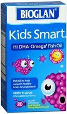 Bioglan Kids Smart Chewable Burstlets Berry Flavor 30 Caps (Pack of 2)