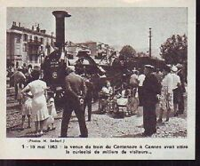1973  --  TRAIN DU CENTENAIRE EN GARE DE CANNES  K082