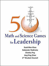 50 Math And Science Games For Leadership, Seah, Wee Khee, New Book