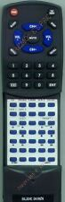Replacement Remote for ONKYO TX108, RC108X, 241066A