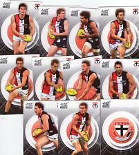 2011 AFL select INFINITY COMMON TEAM SET ST KILDA 11