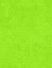 "Wilmington Essentials Criss Cross 60"" FLANNEL 7343 700 Lime Criss Cross BTY"