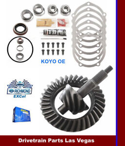 "Richmond Excel Ford 9"" 4.33 Ratio Ring and Pinion Gear Set + Master Install Kit"