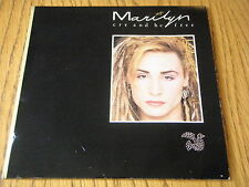 """MARILYN - CRY AND BE FREE  7"""" VINYL PS"""