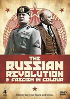 Russian Revolution And Fascism In Colour 2 DVD Set Lenin Mussolini