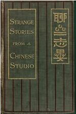 Strange Stories from a Chinese Studio1908Hardcover