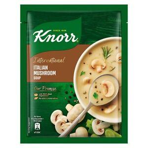 Knorr International Italian Soup - Mushroom, 48g (Pack of 2)