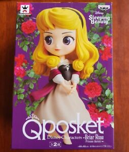 Aurora Briar Rose Sleeping Beauty BANPRESTO Q POSKET figure Genuine