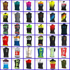 2021 Summer Cycling Vest  Mens Sleeveless Bike Jersey Bicycle Shirt Racing Tops