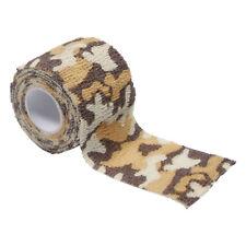 MFH Fabric Self Adhesive Camo Tape 5cm x 4.5m Gun Kit Shooting Desert Camo