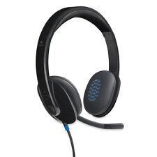 Logitech H540 Corded Headset USB Black 981000510