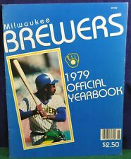 Milwaukee Brewers 1979 Official Yearbook - EX condition