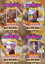 Coin Master  ×200 Cartes (Livraison très Rapide)