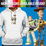 Pullover Sweatshirt Hoodie Sweater Toy Story Buzz Lightyear Sheriff Woody Friend