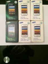 samsung Galaxy ace 5830 empty boxes with trey and manuels