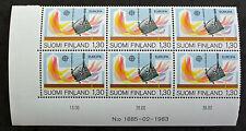 EUROPA Timbre FINLANDE / FINLAND Stamp - Yvert et Tellier n°890 x6 n** (Y3)