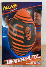 Nerf Sports Weather Blitz Football (Black & Orange)