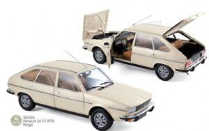 Renault 20 TS 1978 beige 1:18 Norev