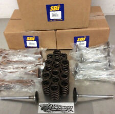 Small Block Chevy Stock Replacement 1.94 1.5 Valves and Springs SB International