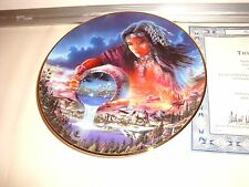 Royal Doulton The Water Of Life Plate With Certificate