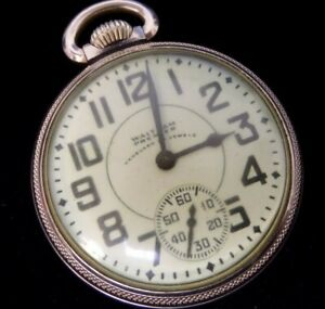 Antique American Waltham Watch Co. Vanguard Model 1908 16s 23 Jewels