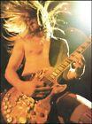Zakk Wylde with Beer Bottle Cap Gibson Les Paul guitar 8.5 x 11.5 pin-up photo