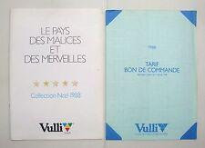 Catalogue jouets anciens gamme Vulli 1988 - disney pitou candy babar picsou