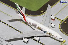 GEMINI JETS EMIRATES WILDLIFE #1  AIRBUS A380-800 1:400 DIE-CAST MODEL GJUAE1550