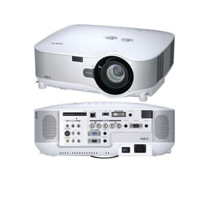 NEC NP2000 3LCD Projector Wireless 4000 ANSI HD 1080i HDMI-adapter w/Accessories