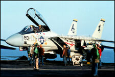 F-14 Tomcat VF-142 Prepares For Launch 1983 8x12 Aircraft Photos
