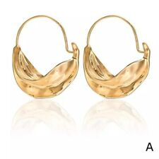 Gold Plated African Fulani Earrings