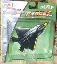 2015 Maisto Sky Squad Tailwinds Black Yellow Lockheed F-22-120 scale China 6+