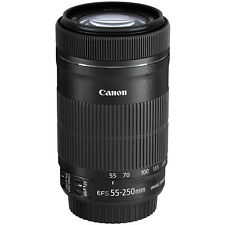 Canon EF-S 55-250mm IS STM Zoom Lens for 70D 7D Rebel T5i SL1 T4i T3 T3i Camera