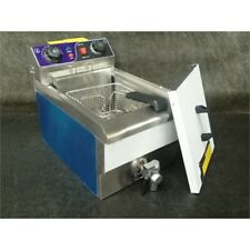 YesCom 26Fry003-10Ls-Dt Electric Deep Fryer w/Timer and Drain, 10L, 110V, 1.5Kw*