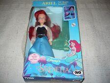 Tyco Ariel la sirenetta gig vintage bambola Walt Disney