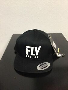 Fly Logo Black Hat