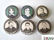 LOT 6 BADGES PINS - IRLANDE SINN FEIN  IRISH REPUBLICAN ARMY IRA IRELAND - 38 MM