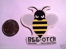 """(#120) Mini BEE-OTCH 2.5"""" x 2.25"""" window sticker (Y541)"""