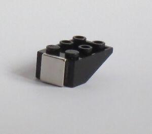 10 Stück Magnetische Schrägsteine für Vitrinen für Lego Minifiguren