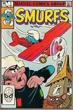 SMURFS #1 MARVEL 1982 FIRST COMIC APPEARANCE SMURFS MULTIPLE STORIES NICE VF