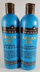 Renpurè Originals Argan Oil Luxurious Shampoo & Conditioner