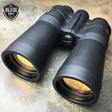 Military Zoom Day/Night 30X50 Multi-Coated Binoculars Hunting Outdoor Telescope