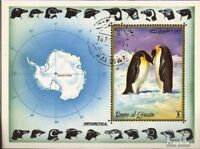 Umm al Qaiwain block51 (complete.issue) used 1972 Antarctica
