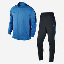 Nike 2017 Dry Men's Squad 17 Knit Track Suit Training Suit Blue/Black SIZE S