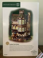 "Dept. 56 Dickens Village ""Scotland Yard Station� New!"