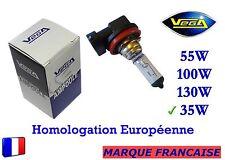 """► Ampoule Halogène VEGA® """"MAXI"""" Marque Française H8 35W Auto Moto Phare Avant ◄"""